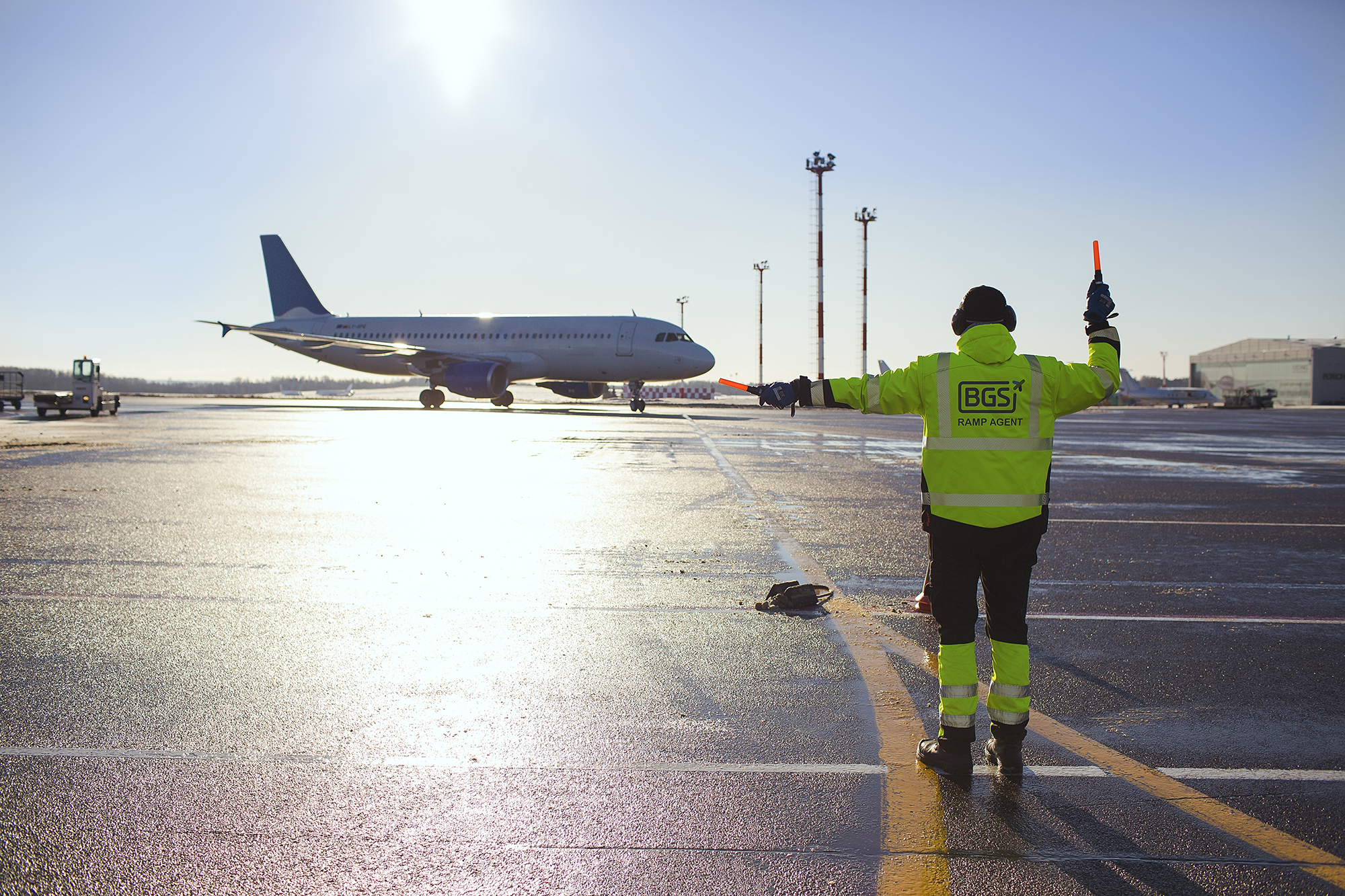 Ryanair Sun chose Baltic Ground Services to service charter passengers at the Chopin airport in Warsaw