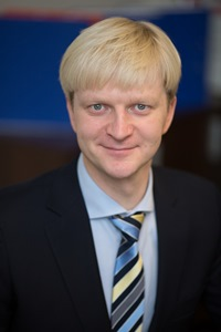 Darius Aleknavicius, CEO of Baltic Ground Services