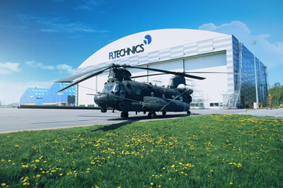 U.S. Army entrusts FL Technics with the support during military rotorcraft maintenance works