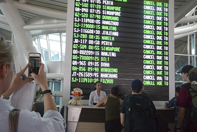 AviationCV.com: Bali Volcano - flight cancelations disastrous for airlines