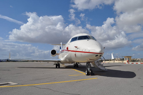 Maltese jet operator entrusts Jet MS with Bombardier Challenger 850 base maintenance