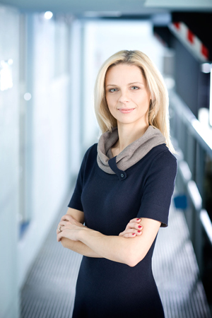 Egle Vaitkeviciute, the CEO at Baltic Aviation Academy