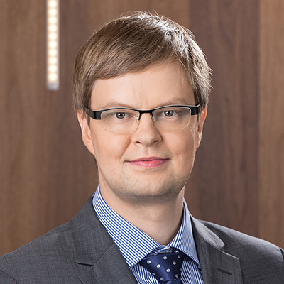 Mantas Vaskela, the CEO of Laserpas