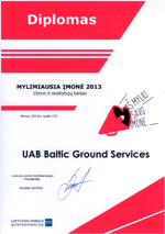 Baltic Ground Services during I love my company contest 2013