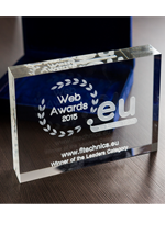 FL Technics celebrates victory at the .eu Web Awards