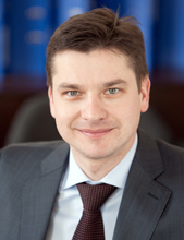 Vitalis Dudys, Head of Sales and Marketing at Baltic Ground Services
